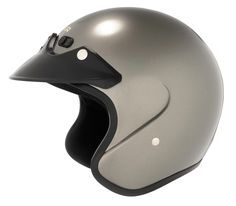 Cyber U-6 Open-Face Motorcycle Helmets - Dark Silver - 2X-Large. Size: 2X-Large. Style: Open-Face. Color: DEEP SILVER. Warranty: Covered for a minimum of 1-year period from the date of purchase. See manufacturer site for full details.