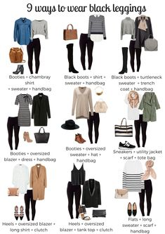 9 ways to wear your shapewear leggings – Svelte Black Leggings Outfit Summer, Dresses With Leggings, How To Wear Leggings, Outfit Ideas With Leggings, Cheap Leggings, Leather Leggings Casual, Leggings Sale, Outfits With Black Jeans, Dressy Outfits