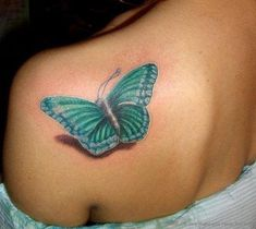 100 Most Unusual Women Tattoos - Page 89 of 117 - Tattoo Designs Cool Back Tattoos, Back Tattoos For Guys, Small Girl Tattoos, Cute Tattoos, Beautiful Tattoos, Tattoos For Women, 3d Tattoos, Watercolor Butterfly Tattoo, Butterfly Back Tattoo