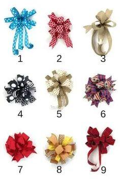 Diy Bow, Diy Ribbon, Ribbon Crafts, Wreath Crafts, Diy Wreath, Wreath Bows, Tulle Wreath, Wreath Burlap, Ribbon Flower