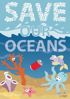 World Oceans Day has been recognised since 2002 and will be celebrated on 8th June this year. It's the perfect opportunity to learn about the oceans and their importance in our lives, and to think about what we can do to protect them and keep them clean and healthy. And of course it is a great excuse to dive into a sea creature topic - particularly if you focus on endangered species or other creatures under threat.