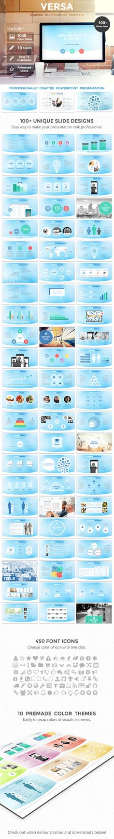 BusinessTheme (businessthemes) on Pinterest - professional power point template