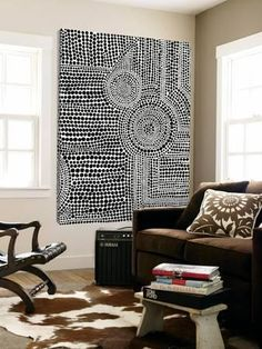 Loft Art: Clustered Dots B by Natasha Marie : Pintura Tribal, Indigenous Art, Dot Painting, Encaustic Painting, Painting Inspiration, Diy Art, Art Projects, Abstract Art, Geometric Painting