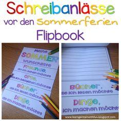 Schrebanlässe für die Grundschule. Tolle und abwechslungsreiche Vorlagen, die Kinder zum Schreiben motivieren.