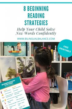 8 Beginning Reading Strategies: Help Your Child Solve New Words - Bilingual Balance