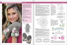 #Crochet FLORES  Nº 01 - 2014 www.eviaediciones.com