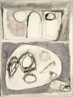 Eva Hesse - No title (in collection at Allen Art Museum; Oberlin, Ohio) 1961-62