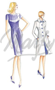 Cartamodelli :: Marfy Collezione 2010/2011 :: Autunno/Inverno :: Cartamodello 2241 -