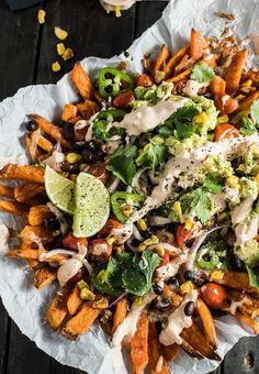 Make Loaded Food Truck Mexican Nacho Fries with this easy recipe.