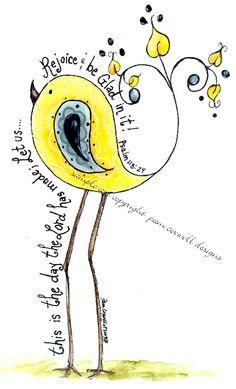 Paisley Chick Yellow Mr. Finch