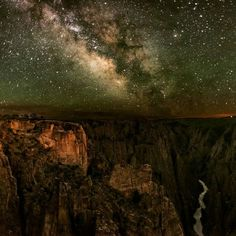 On instagram by yourtruenatureinc #astrophotography #contratahotel (o) http://ift.tt/22BbPds spectacular view from Black Canyon of the Gunnison National Park to celebrate International Dark Skies Week! Advice from the Night Sky See the big picture Keep looking up Stay full of wonder Turn off the lights! -Ilan Shamir  Photo by Greg Owens Repost @idadarksky #wanderlust #keepitwild #keepexploring #nationalpark #findyourpark #nationalparkgeek  #stars #nightsky #advicefromthenightsky #wowisaw…