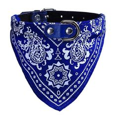 Susenstone®Adjustable Pet Dog Puppy Cat Neck Scarf Bandana Collar (Blue) ** Check out this great product. (This is an affiliate link and I receive a commission for the sales)