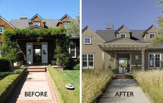 Before and After Napa Vineyard Retreat. San Francisco-based landscape architect Scott Lewis transformed a Napa Valley garden into a drought-tolerant oasis using native grasses. Gardenista
