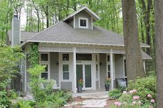 A cottage in the woods . . . paradise!