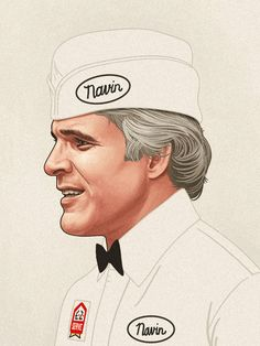 """The Art Of Mike Mitchell """"The Jerk"""""""