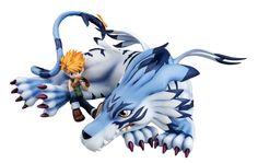 Digimon Adventure G.E.M. Serie PVC Statue Garurumon & Matt 25 cm   Digimon - Hadesflamme - Merchandise - Onlineshop für alles was das (Fan) Herz begehrt!