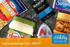 Free printable coupons from Kraft Canada what's cooking Rewards. Find coupons for your favourite Kraft products. Digital Coupons, Free Printable Coupons, Grocery Coupons, Print Coupons, What To Cook, Canada, Printables, Snacks, Food