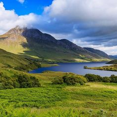 Cul Beag & Loch Lurgainn in the Highlands of Scotland