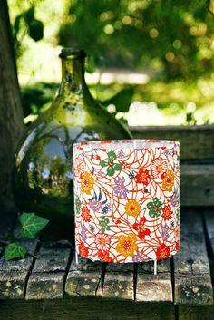 Papiers japonais -lampe-Mon univers papier