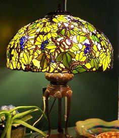 Grape lamp, Bogenrief Studios, Inc.