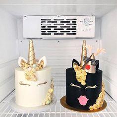 Que tal um bolo de unicórnio? Acho que nem precisa de uma data especial pq são lindos demais talvez nem comer precisa apenas contempla-los! Arte do @shaunteocreations!