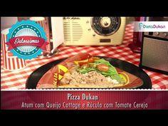 Toque de Chef Dukan - Guloseimas - Pizza Dukan - YouTube