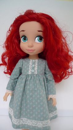 Prairie dress for disney animator dolls от Hillyrags на Etsy