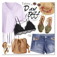 Taking a Day Off by oshint on Polyvore featuring polyvore fashion style clothing