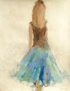 Wisteria by Holly Irwin | dk Gallery | Marietta, GA | SOLD