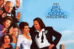 "My Big Fat Greek Wedding is a 2002 romantic comedy film written by and starring Nia Vardalos and directed by Joel Zwick. The movie is centered on Fotoula ""Toula"" Portokalou, a middle class Greek American woman who falls in love with a non-Greek upper middle class ""White Anglo-Saxon Protestant""."