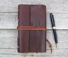 2018 Leather Planner / Monthly / Weekly / Daily Planner /