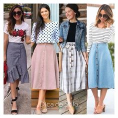 Amazing 30 Amazing Skirts Ideas For Women Modest Outfits, Modest Fashion, Chic Outfits, Trendy Outfits, Fashion Dresses, Jw Fashion, Modest Wear, Fall Outfits, Fashion Trends