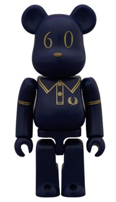 BearBrick FRED PERRY 60th Anniversary