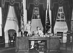 Franklin Roosevelt in the Oval Office