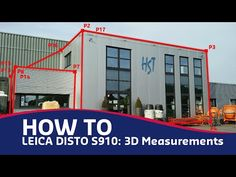 Leica Disto S910: 3D Measurements - YouTube