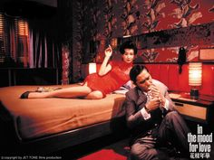 "Tony Leung and Maggie Cheung in ""In the Mood for Love"" - Director: Wong Kar-wai"
