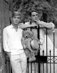 Anthony Andrews and Jeremy Irons, 1981. Brideshead Revisited