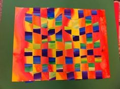 warm and cool color weaving - Google Search