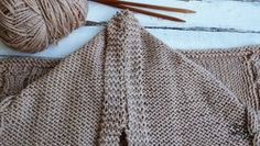 Teje una Bufanda con Capucha fácil en dos agujas | Soy Woolly Diy And Crafts, Knitting, Knits, Google, Fashion, Knitting Designs, How To Knit, Moda, Tricot
