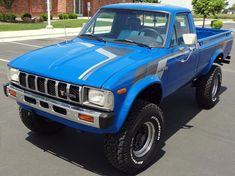 1982 Toyota Other Pickup Hilux - Today Pin 2010 Toyota Tacoma, Toyota 4x4, Toyota Trucks, Toyota Hilux, Best Classic Cars, Classic Trucks, Mini Trucks, Cool Trucks, Toyota Pickup For Sale