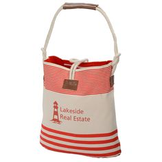 Bag up great advertising opportunities with this imprinted tote!