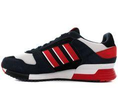 the latest 419be 11f0d Adidas Originals ZX 630 hombres Clásico Sneakers Azul tinta rojo Negro  D67741