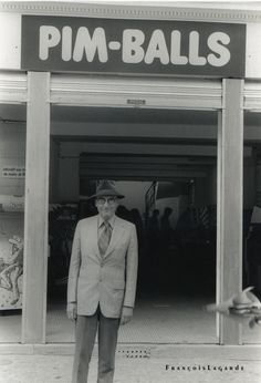 William Burroughs, photo François Lagarde.