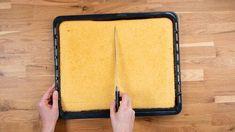 Bierglas-Torte - Rezept von Backen.de Sheet Pan, Small Bowl, Whipped Cream, Foods, Bakken, Essen, Springform Pan