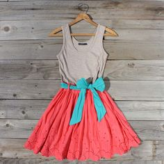 Watermelon and teal