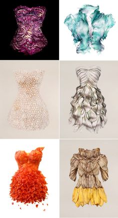 """Sung Yeon Ju's art series titled """"Wearable Foods"""""""