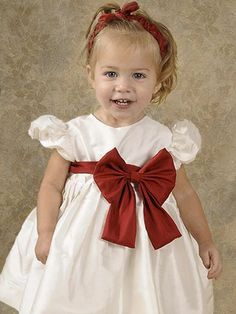 Image detail for -Baby Scarlett Silk Holiday Dresses