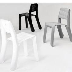Chaise design CHIPPENSTEEL en aluminium - ZIETA PROZESSDESIGN