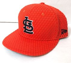 new product 764f2 19dfd New Era  40 ST LOUIS CARDINALS 2017 ALL STAR GAME HAT Orange Mesh Floral  FITTED