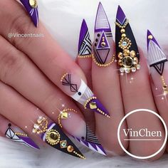 """4,978 Likes, 23 Comments - Ugly Duckling Nails Inc. (@uglyducklingnails) on Instagram: """"Beautiful nails by @vincentnails ✨Ugly Duckling Nails page is dedicated to promoting quality,…"""""""